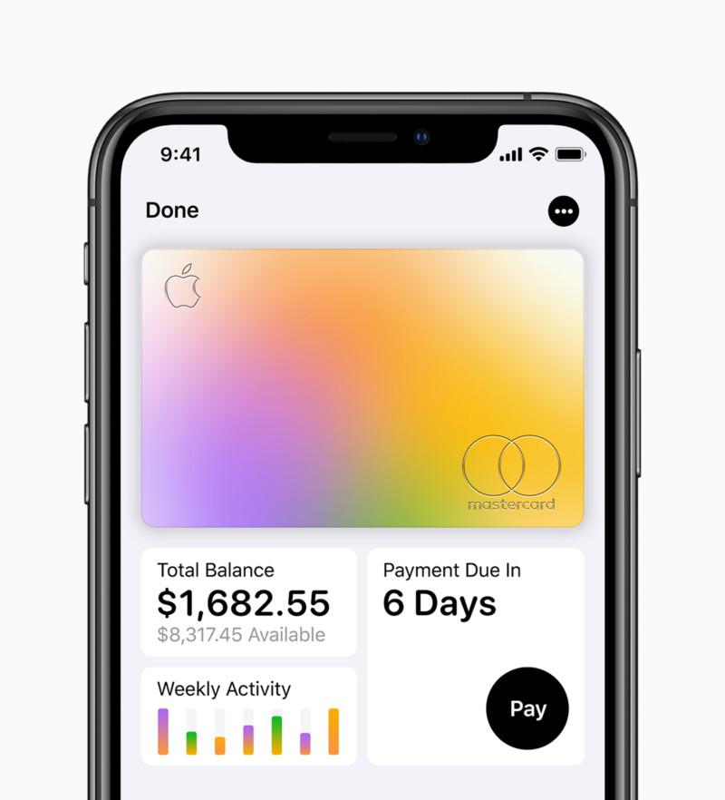 apple card phone screenshot
