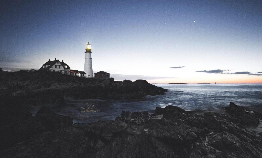 lighthouse watching over an ocean of opportunities